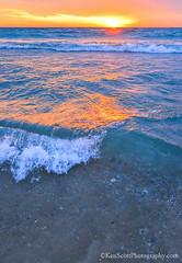 Lake Michigan  sunset of on and on'ness III (Ken Scott) Tags: winter sunset usa michigan lakemichigan greatlakes empire february hdr freshwater voted leelanau 2016 45thparallel backpage sbdnl sleepingbeardunenationallakeshore mostbeautifulplaceinamerica