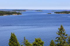 Utkikstorn p norra Nmd (Anders Sellin) Tags: sea summer vacation point view sweden stockholm north baltic sverige utsikt archipelago stersjn swede skrgrd nmd utkikstorn