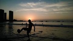 velvet sounds (monzack) Tags: sunset summer beach verano phoneography