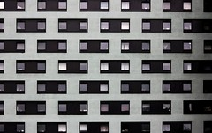 Uniformity (Andrea Kennard) Tags: street uk blue windows red building london lines yellow facade squares minimal colourful singularity