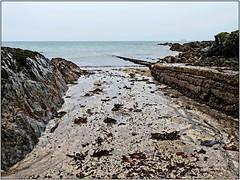 Helen's Bay Inlet, County Down, Northern Ireland (BangorArt) Tags: seascape beach digitalart northernireland inlet seashore slipway helensbay countydown coastalwalk redfield northdown paulanderson bangorart