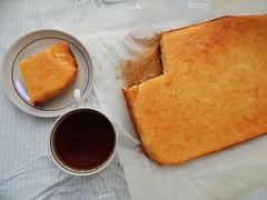 mannik-kusochek-sverhu (Horosho.Gromko.) Tags: orange cooking cake baking   ibake   semolinacake