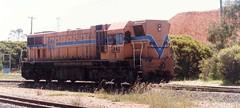 1100 FF D 1561 (Swanriverwine) Tags: wagr westrail wagrd wagrda emd railways forrestfield train