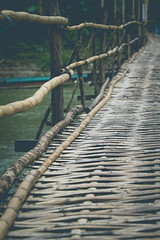 (c) Wolfgang Pfleger-0364 (wolfgangp_vienna) Tags: bridge asia asien bamboo laos brcke luangprabang luang prabang bambus