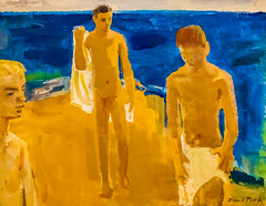 David Park (Thomas Hawk) Tags: sanfrancisco california museum painting sfmoma bathers sanfranciscomuseumofmodernart fav10 davidpark