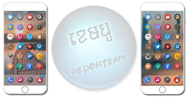 Theme ថ្មីដែលមាន រចនាបថ icon មូលៗ! តម្លើងសិន បានដឹងថាទាក់ទាញប៉ុណ្ណា!