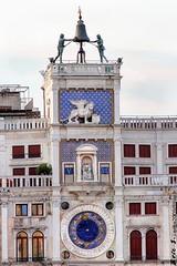 3209 (EricS2010) Tags: venise italie place saint marc horloge lion cloche vierge enfant zodiaque signe tour bleu toile dor torre del reloj venecia clock tower venezia san marco st marks