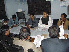 Press briefing before Upozila Election