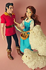 (girl enchanted) Tags: ds disney disneystore belledoll beautyandthebeastdoll gastondoll