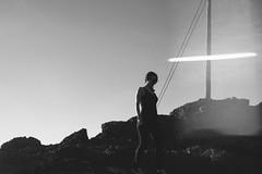 in the mountains (gorbot.) Tags: blackandwhite monochrome roberta panasoniclumixgf1 vscofilm 20mmlumixf17
