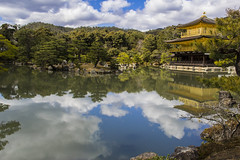 Kinkaku-ji (Pou42) Tags: ji canon temple kyoto or kinkakuji japon templo rodalies jap dorado oro kinkaku cercanias airelibre japo 18200mm daurat 60d