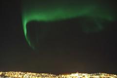 Aurora over Narvik - 1/2 March 2016 (crowlem) Tags: sky norway night lowlight nighttime aurora narvik auroraborealis spaceweather aurorae