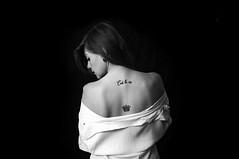 Vie. (Martina Monti Condesnitt) Tags: portrait tattoo bianco nero biancoenero est vie schiena spalle dispalle
