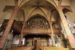 Marienkapelle Rheinbllen, Orgel und Eingang (doerrebachtaler) Tags: hdr hunsrck stiftung rheinbllen marienkapelle puricelli puricellistift