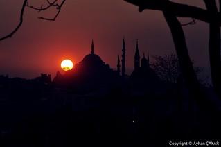 Sunset Süleymaniye Istanbul