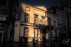 Aprs la pluie / After The Rain (Gilderic Photography) Tags: street city light rain canon shadows belgium belgique belgie rue liege clairobscur g7x gilderic