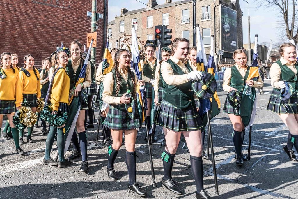 SHORECREST HIGH SCHOOL [ST. PATRICK'S PARADE IN DUBLIN 2016]-112217