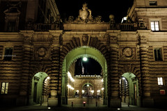 (Stevelb123) Tags: longexposure nightphotography travel colors night europe sweden stockholm saturation gamlastan nightphoto traveling scandinavia travelphotography fujix100t