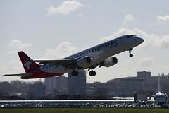 Helvetic ERJ190 ~ HB-JVR ( Freddie) Tags: london londoncityairport newham e16 lcy royaldocks eglc runway27
