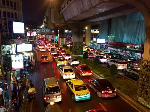 Last night in Bangkok