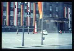 (Kaopai) Tags: west color berlin vintage dia 1966 architektur farbe farbig sparkasse westberlin historisch westen farbfoto farbdia