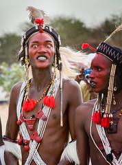 Gerewol (una banda de dos) Tags: niger peul woodabe gerewol