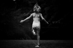 Focus on the joys in life... (privizzinis passion photography) Tags: summer people blackandwhite feet water girl monochrome childhood kids children fun outdoors child outdoor joy sprinkler barefeet hank