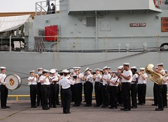 HMCS ONTARIO Band (Roger Litwiller -Author/Artist) Tags: sea ontario royal canadian kingston roger cadets hmcs rcn litwiller mcdv700