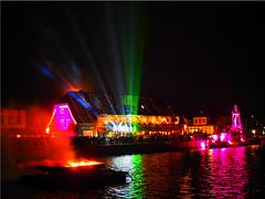 Laser and light show at the Port of Neustadt (Ostseetroll) Tags: water reflections geotagged deutschland fire wasser nightshot feuer deu schleswigholstein nachtaufnahme spiegelungen neustadtinholstein laserandlightshow geo:lat=5410616497 geo:lon=1081017462