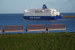 (SeeNewcastleUK) Tags: bench dfds