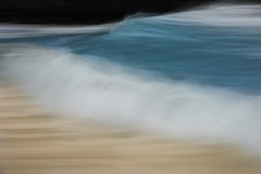 Norway-10.jpg (paulvwright) Tags: norway longexposure sand nikon andoya intentionalcameramovement rocks beach abstract icm nikond810 panning d810 spume sea