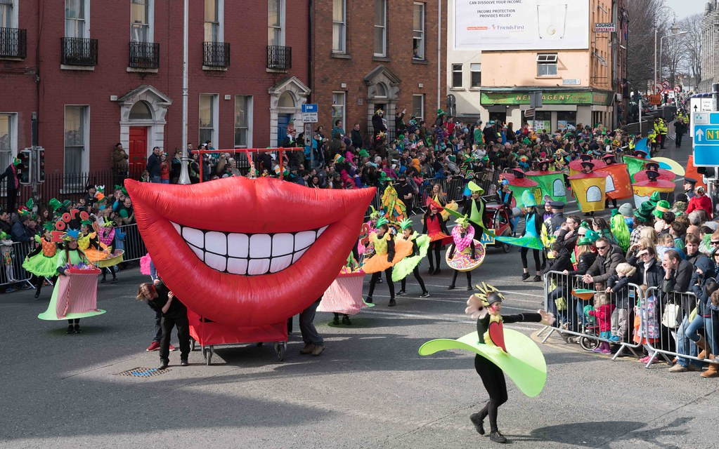 ARTISTIC AT THE ST. PATRICK'S DAY PARADE [MARCH 17 2016]--112464