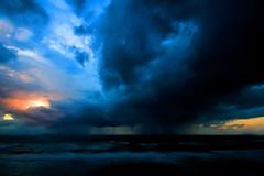 sunset & storm - Tel-Aviv beach (Lior. L) Tags: sunset sea storm beach israel telaviv seascapes sigma wideangle ultrawideangle sigma1020 sunsetstormtelavivbeachisrael