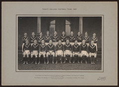 Football Team, 1922 (Trinity College, The University of Melbourne) Tags: 1920s sports students football trinitycollege 1922 footballteam theuniversityofmelbourne residentialcollege