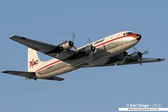 N2907F - Douglas DC-6A - Northern Air Cargo (KarlADrage) Tags: anchorage douglas nac panc c118 northernaircargo evertsaircargo dc6a n2907f tedstevensintlairport