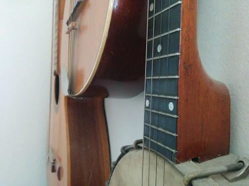 music guitar mandolin banjo instrument