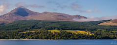 Arran (Gordon Gray Photography) Tags: summer mountain forest island scotland seaside scottish panoramic arran