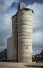 silo,  Mallee Highway (thoughtfactory) Tags: architecture rural imac handheld silos scoping leicasummicron35mmf20asph garysauerthompson malleehighway novoflexadaptor lightroom5 sonynex7