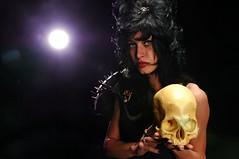 Persephone (Studio d'Xavier) Tags: portrait gothic goth ellie underworld persephone strobist
