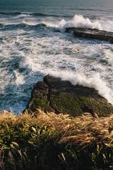 Coastal Sunset (rogergabrielgarcia) Tags: ocean california sunset canon landscape coast waves 5d garcia roger
