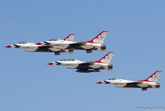 F-16C/D Fighting Falcon - USAF Thunderbirds (Pasley Aviation Photography) Tags: arizona force glendale air united luke off diamond f16 falcon take states thunderbirds fighting viper usaf base afb f16d f16c f16cd