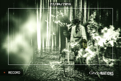 Caught In The Woods I (Ghost Of Nations Photography And Digital Art) Tags: forest dark video scary woods gloomy ghost gothic eerie neogothic nightvision newgothic ghostofnations ghostofnationsphotography