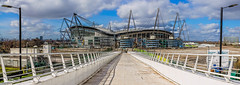 Manchester City ((Thanks for over 2 Million Views)) Tags: england sky panorama architecture canon manchester northwest panoramic lancashire 1855mm hdr manchestercity mcfc footballclub kevinwalker etihadstadium canon1100d