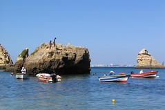 Lagos - Algarve - Portugal (Been Around) Tags: sea mer praia beach portugal meer europe mare travellers eu lagos algarve plage atlanticocean oceanoatlntico barlavento img0756 concordians thisphotorocks praiadadonaana worldtrekker regiodoalgarve