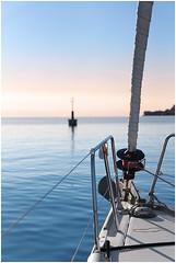 Relax (Waterjoe) Tags: ocean blue sunset sea holiday water canon relax meer wasser sailing yacht urlaub vessel segeln ozean ruhe 60d canoneos60d