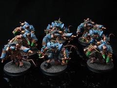 Skaven Stormfiends (T Markham) Tags: fantasy end warhammer times horde gamesworkshop skaven