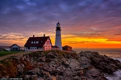 wpid17495-Portland-Maine-Lighthouse-at-Cape-Elizabeth-During-Sunrise (davidkulp30) Tags: lighthouse maine highdynamicrange portlandheadlight capeelizabeth photomatixpro hdrphotography fortwilliamspark topazdenoise captainkimo