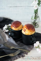 Brioche esponjoso con jamn y pasas en taza (No solo dulces) Tags: mug brioche jamon pasas receta mugcake