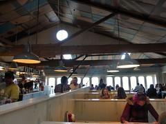Seashore Cabaret (Fraser P) Tags: sea newzealand beach weather cafe harbour wellington petone lowerhutt