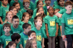 2016-04-07 (36) Fred D ES 2nd grade show (How Does Your Garden Grow) afternoon (JLeeFleenor) Tags: kids youth photography virginia kid photos performance victoria indoors va elementaryschool inside leesburg 2ndgrade frederickdouglass loudouncounty youthactivities